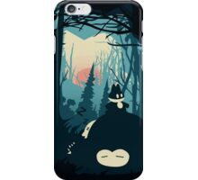 The Sleeping Forest iPhone Case/Skin