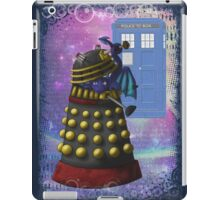 The Dalek and the Dragon Thief iPad Case/Skin