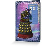 The Dalek and the Dragon Thief Greeting Card