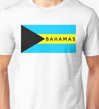 flag of bahamas Unisex T-Shirt