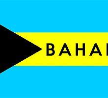 flag of bahamas by tony4urban