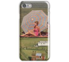 BEACH GOERS iPhone Case/Skin