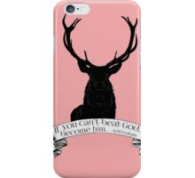 """""""If you can't beat God.."""" - Will Graham / Hannibal PINK iPhone Case/Skin"""