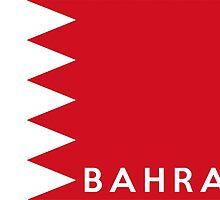 flag of bahrain by tony4urban