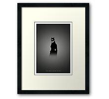 The Dark Knight Rises Alternative Framed Print
