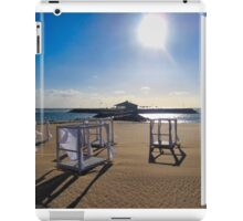 EMPTY BEDS ON THE BEACH iPad Case/Skin