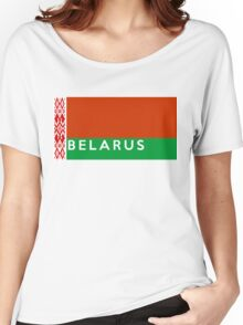 flag of belarus Women's Relaxed Fit T-Shirt