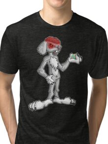 zombie easter bunny... Tri-blend T-Shirt