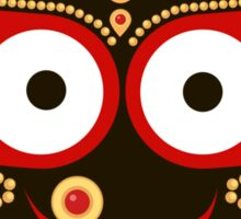 Jagannath. Indian God of the Universe. Lord Jagannatha. Sticker