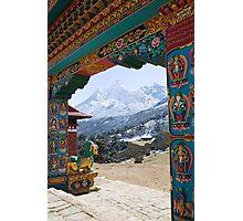 Tengboche Monastery / Ama Dablan Photographic Print