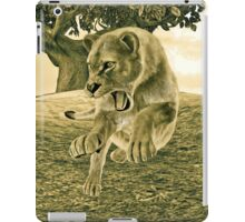 Hunting Lioness  iPad Case/Skin