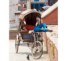Rickshaw Photographic Print