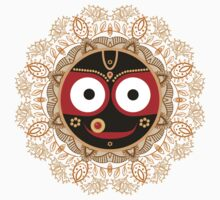 Jagannath. Indian God of the Universe. Lord Jagannatha. Kids Clothes