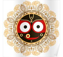 Jagannath. Indian God of the Universe. Lord Jagannatha. Poster