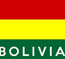 flag of bolivia by tony4urban