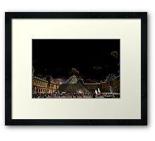 LOUVRE MATRIX Framed Print