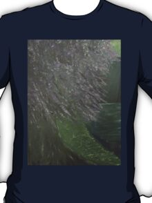 Standing In The Pale Moonlight Painting T-Shirt