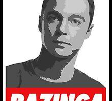 Dr. Sheldon Cooper - Bazinga by Fonso