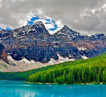 MORAINE LAKE by Sandy Stewart