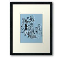 Boxheads Framed Print