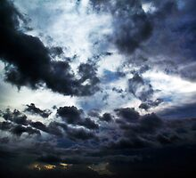 Stormy Day in the Carribean by Tommy Seibold