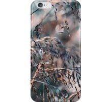 Silver Grass After Rain  iPhone Case/Skin