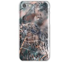 Silver Grass After Rain  iPhone Case/Skin