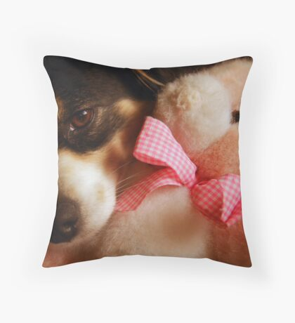 Pure Friendship Throw Pillow
