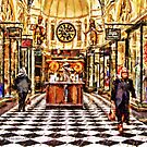 Gog and Magog Royal Arcade Melbourne Victoria Australia by Helen Chierego