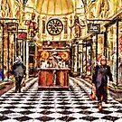 Gog and Magog Royal Arcade Melbourne Victoria Australia by © Helen Chierego