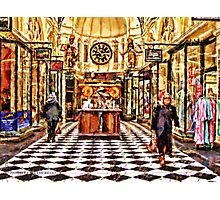 Gog and Magog Royal Arcade Melbourne Victoria Australia Photographic Print