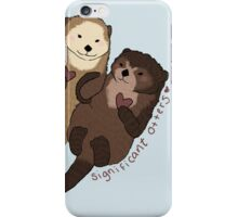 Significant Otters iPhone Case/Skin