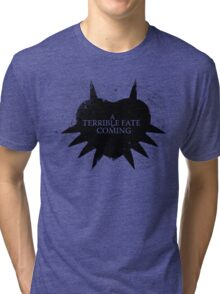 A Terrible Fate is Coming (Black) Tri-blend T-Shirt