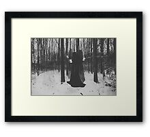 Witch. Framed Print