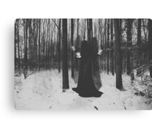 Witch. Canvas Print