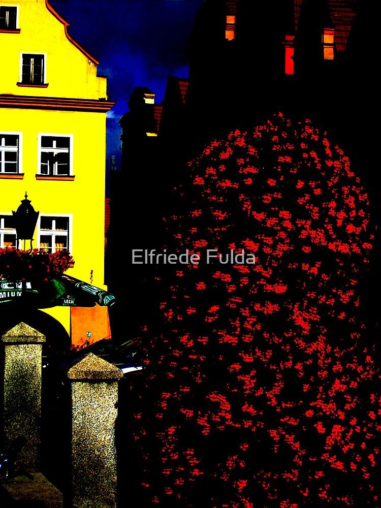 Town in Abstract by Elfriede Fulda