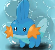Mudkip by AJWhereArtThou