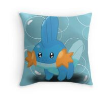 Mudkip Throw Pillow