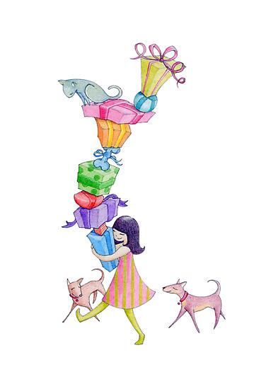 Gifts Girl by Mariana Musa