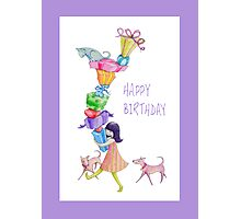 Gifts Girl Birthday Photographic Print