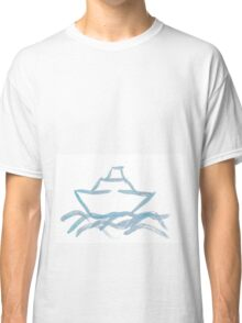 Ship on a Painted Sea Classic T-Shirt