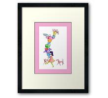 Gifts Girl Pink Framed Print