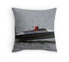 Bullet Express Throw Pillow