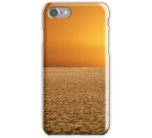 Sunrise on the Dune iPhone Case/Skin