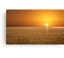 Sunrise on the Dune Canvas Print