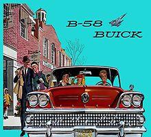 1958 Buick by Mike Pesseackey (crimsontideguy)