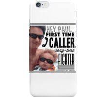 Paul The Fighter - FFWYW iPhone Case/Skin