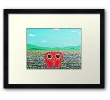 Tulip Love Affair Framed Print