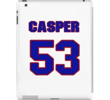 National baseball player Casper Wells jersey 53 iPad Case/Skin