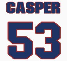 National baseball player Casper Wells jersey 53 by imsport